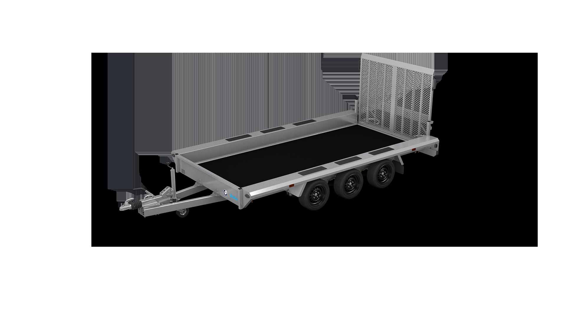 HAPERT Transportanhänger INDIGO LF-3 nicht kippbarer Maschinentransporter