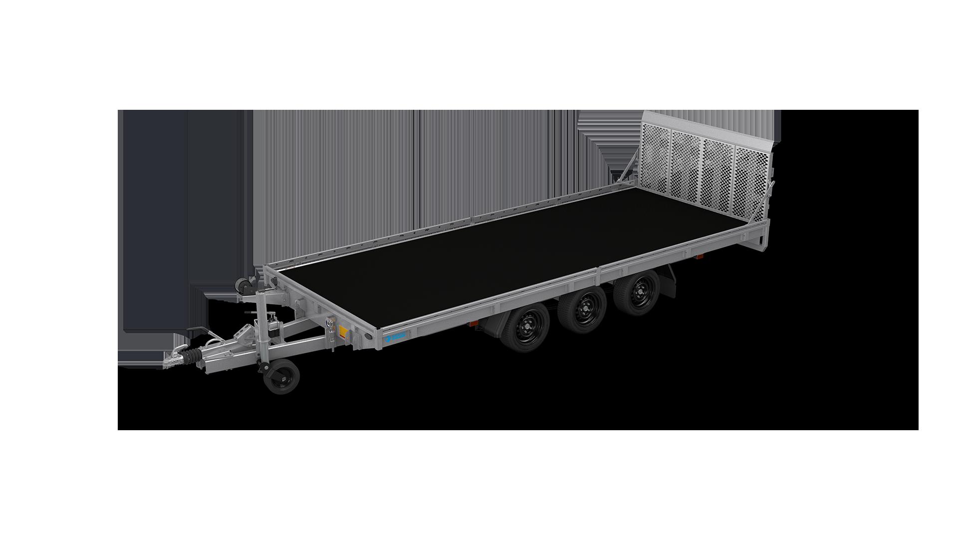 HAPERT Transportanhänger INDIGO HT-3 hydraulisch kippbarer Maschinentransporter